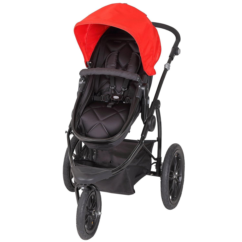 Baby Trend Manta Snap Gear Jogger Stroller, Lava