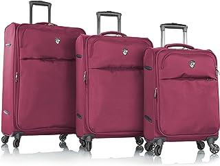 Heys Skywave Bag Luggage Trolley 3PCS SET - Fuchsia
