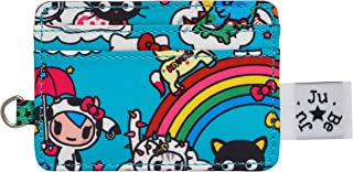 JuJuBe Be Charged Compact Slotted Card Case, Tokidoki Collection - Rainbow Dreams