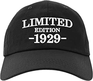 Cap 90th Birthday Gifts, Limited Edition 1929 All Original Parts Baseball Hat