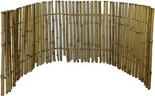 Ornamental Bamboo Fence, 2'H x 6'L