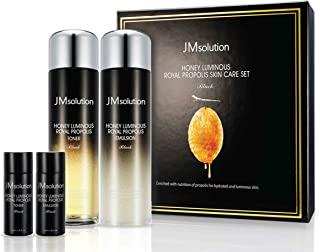 JM Solution Honey Luminous Royal Propolis Skin Toner & Emulsion Skin Care Set