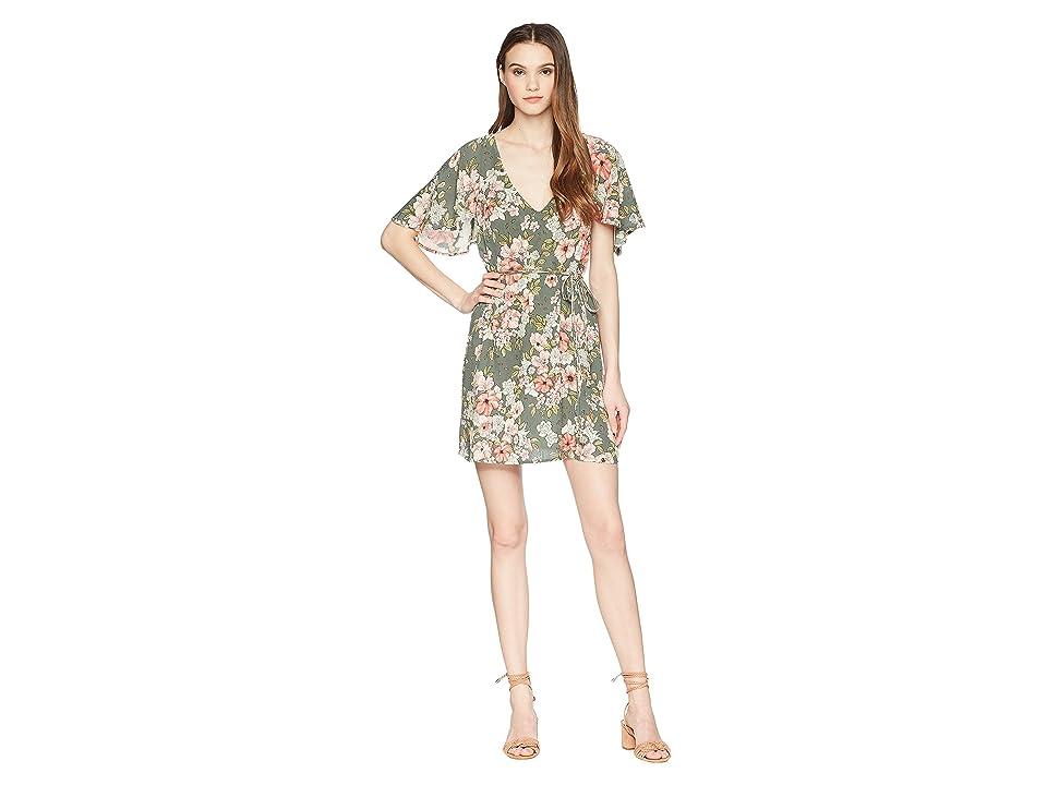 Billabong Fine Flutter Dress (Clover) Women