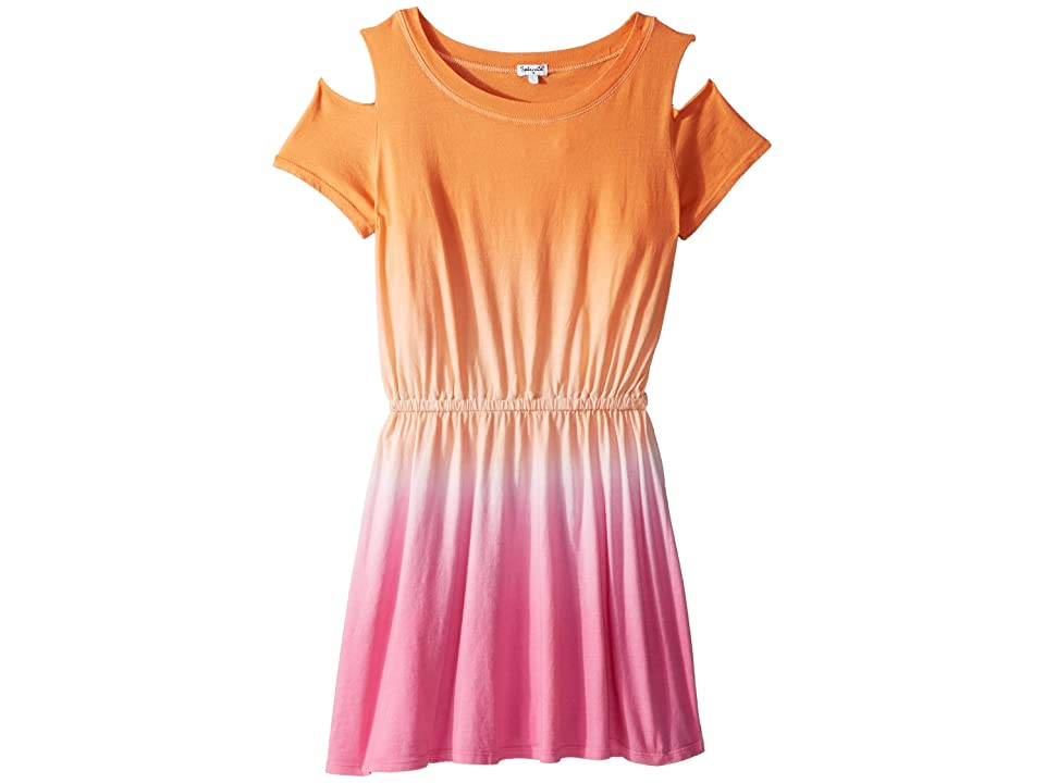 Splendid Littles Dip-Dye Dress (Big Kids) (Desert Flower/Dip-Dye) Girl