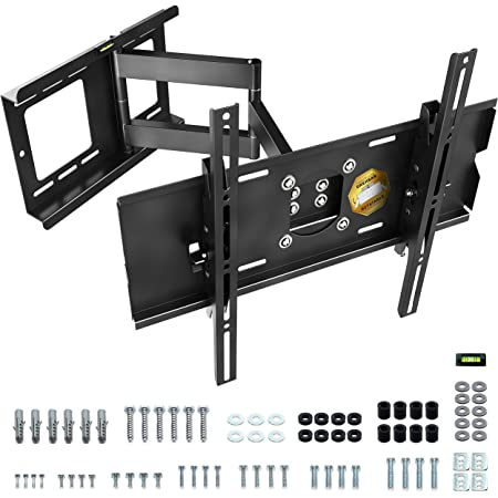 Ricoo R13 Tv Wandhalterung Schwenkbar Neigbar Universal Elektronik