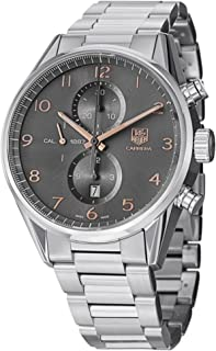 TAG Heuer Carrera Automatic Chronograph Anthracite Dial Mens Watch CAR2013.BA0799
