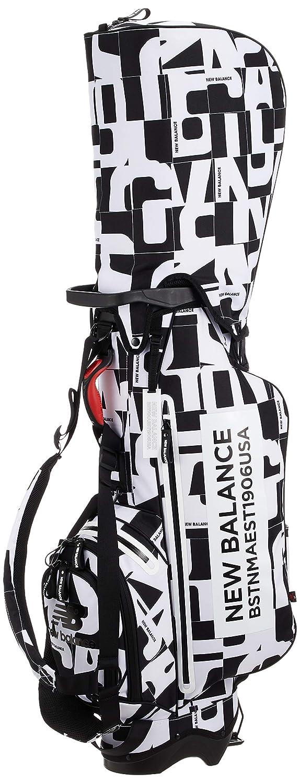 [ニューバランス ゴルフ] キャディバッグ マルチパターンプリント 軽量 スタンドタイプ (9.5 インチ?46 インチ対応、2.8Kg、 仕切り数6) 012-9180002