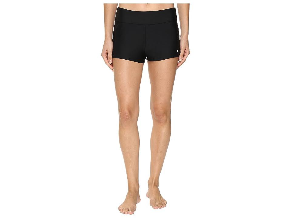 Next by Athena Good Karma Jump-Start Swim Shorts (Black) Women