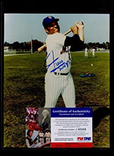 Signed Willie Mays Photo - 8 X 10 PSA DNA Cert - Autographed MLB Photos
