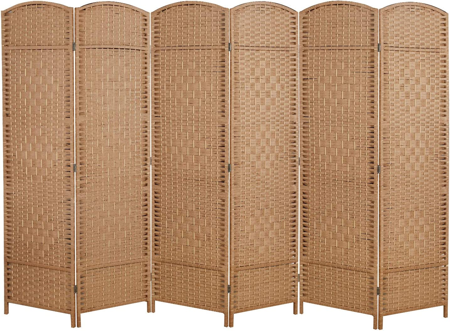COCOSICA Room Divider trust and Folding Privacy Extra Tall Store W Screen -