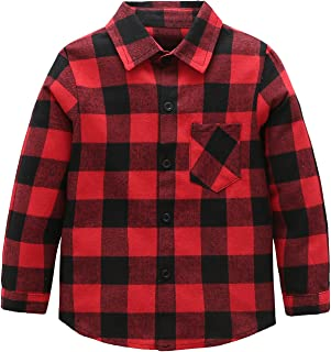 002fbe4fc88 Amazon.ca  Red - Button-Down   Dress Shirts   Boys  Clothing ...
