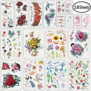 Best colorful flower tattoos Reviews