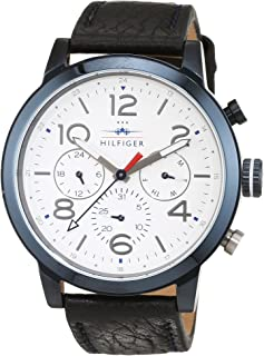 Tommy Hilfiger Casual Watch For Men Analog Leather - 1791235