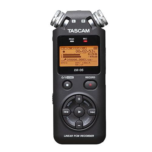 Tascam DR-05V2 - Dictáfono, Grabadora de Voz + Micro Sd 4Gb Gratis,