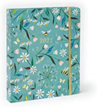 "Katie Daisy 2021 Hardcover Deluxe Planner (7.5"" x 9"" closed)"