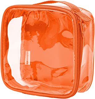 Clear TSA Approved 3-1-1 Travel Toiletry Bag/Transparent See Through Organizer
