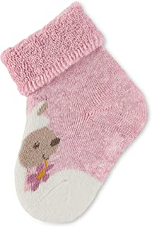 Chaussettes Bébé Calcetines casual, Rosa (Rosa Mel. 703), Recién Nacido (Talla del fabricante: 14) para Bebés