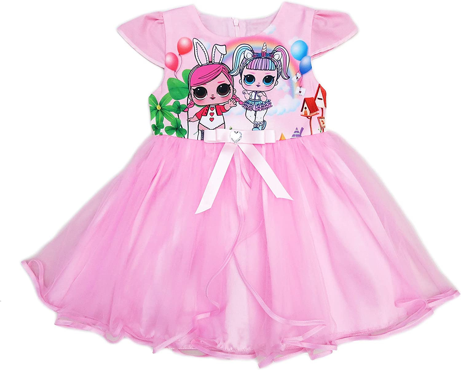 wenchoice Pink LOL Tulle Dress Girl's