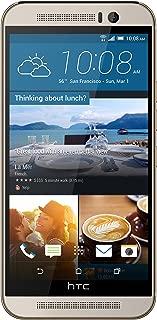 HTC One M9 Unlocked GSM 4G LTE 20MP Camera Smartphone (Silver/Gold) (Renewed)