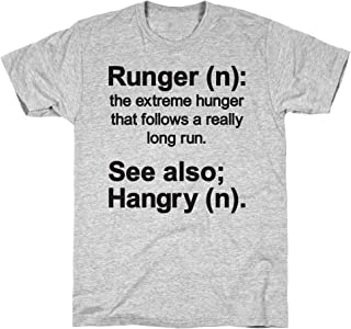 Runger Definition Athletic Gray Men's Cotton Tee