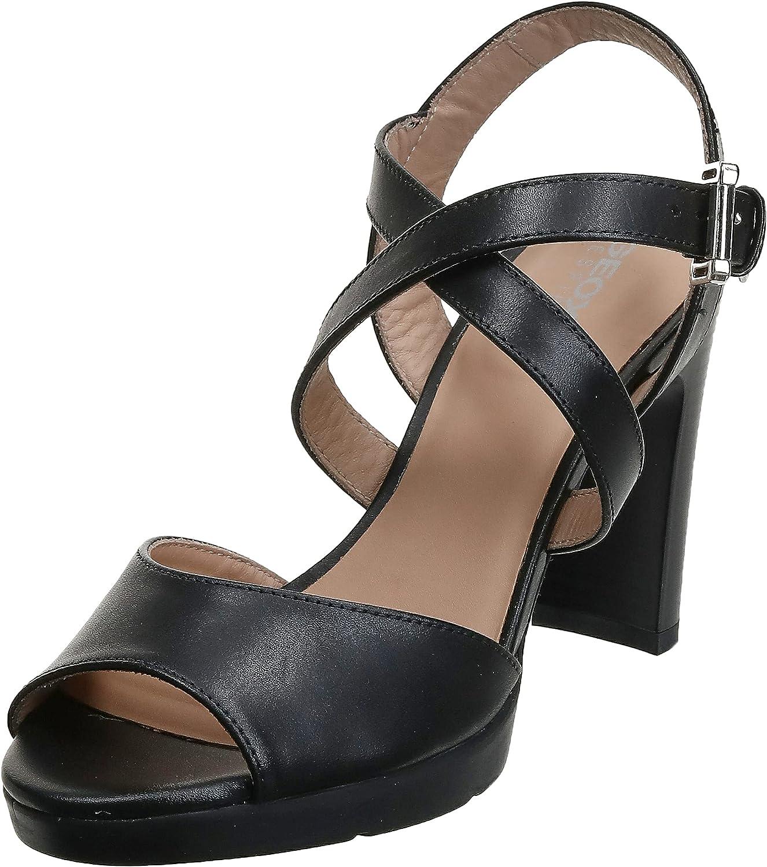 Geox Women's Wedge Heels Sandals Open Toe