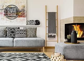 Decorative Blanket Ladders 4 FT, 5 FT, 6 FT, 7 Ft and 8 FT Rustic Wooden Quilt Ladder Rack