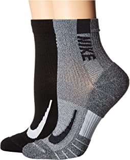 Multiplier Running Ankle Socks 2-Pair Pack