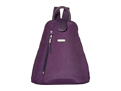 Baggallini New Classic Metro Backpack with RFID Phone Wristlet (Grape Jelly) Backpack Bags