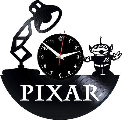 EVEVO Pixar Reloj De Pared Vintage Accesorios De Decoración del ...