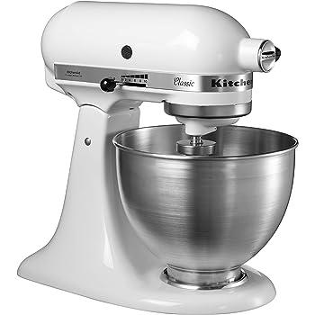 KitchenAid 5KSM45EWH Robot da cucina, 275 W, Bianco