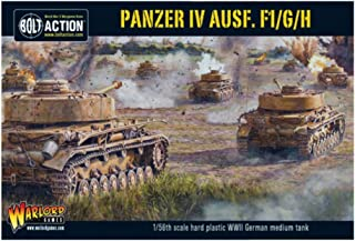 Bolt Action Panzer IV Ausf. F1/G/H Medium Tank 1:56 WWII Military Wargaming Plastic Model Kit