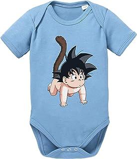 Son Baby Body Dragon de algodón orgánico Ball Proverbs Romper para niños y niñas de 0 a 12