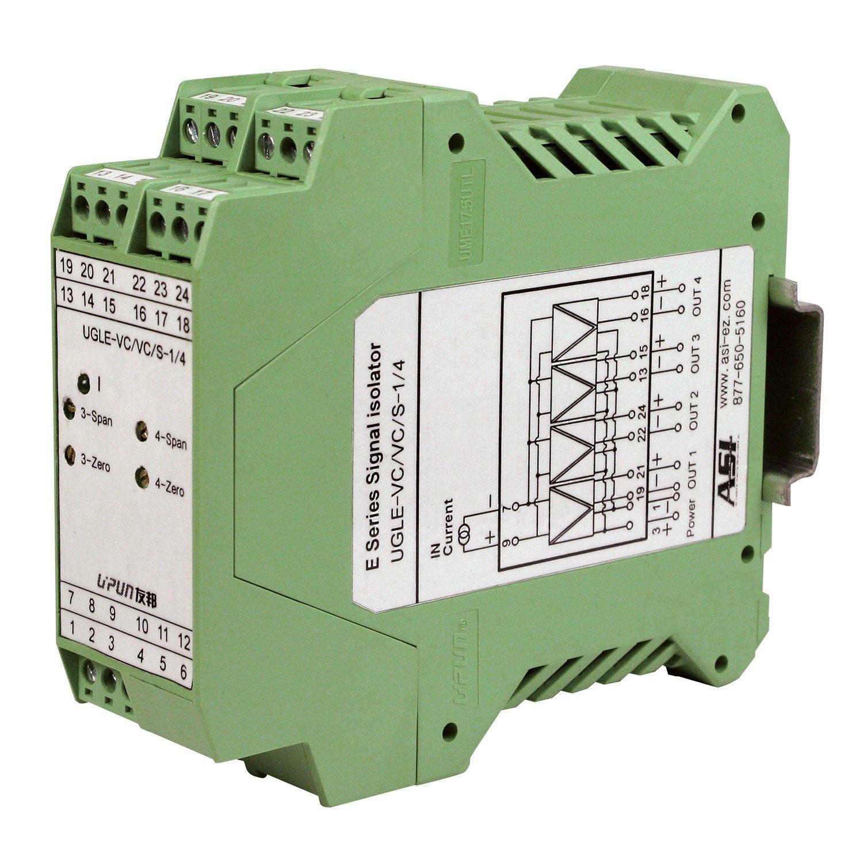 ASI ASI451141 4-20mA Analog discount Signal Max 63% OFF 4 1 Input Output Splitter