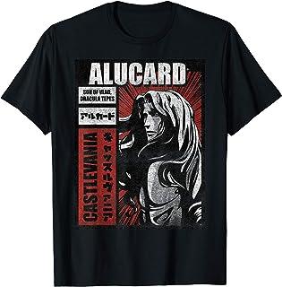 Castlevania Alucard Kanji Poster T-Shirt