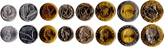 Belgium 5 Coins Set 1956-2001 UNC 25 CENTIMES - 10 FRANCS. Collectible Coins to Your Coins Album, Coin Holders OR Coin Collection