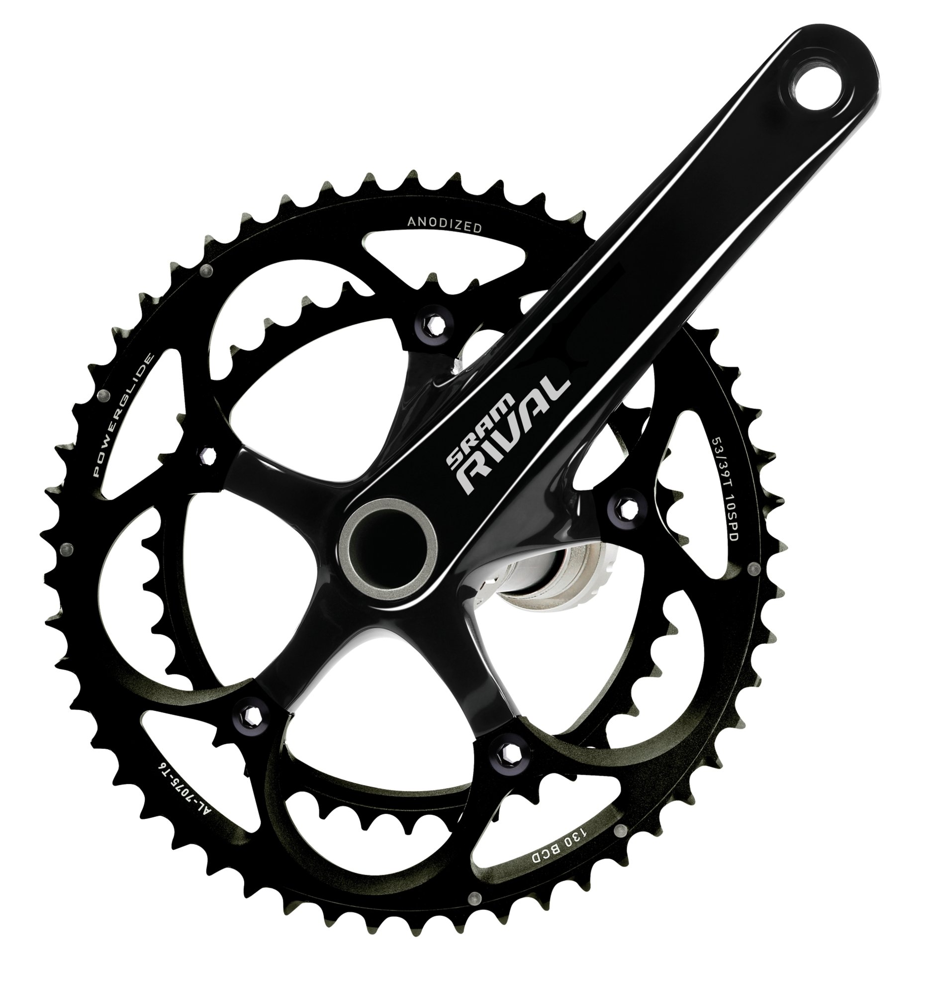 SRAM Rival - Biela para Bicicleta de Carretera, 46-36 Dientes: Amazon.es: Deportes y aire libre