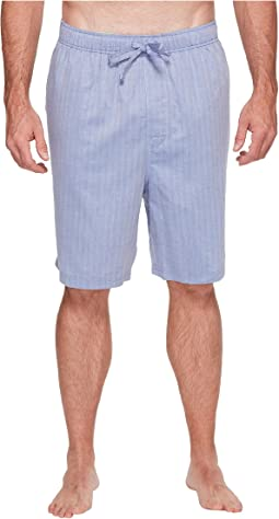 Nautica Big & Tall - Big & Tall Herringbone Sleep Shorts