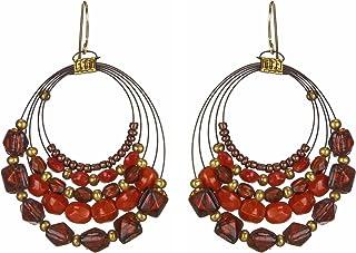 DCA Multicolor Glass Women Earrings (2055)