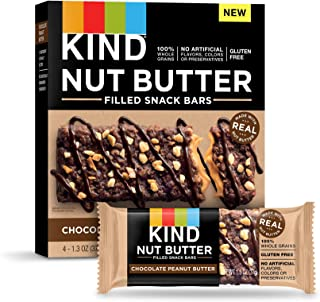 KIND Nut Filled Bars, Chocolate Peanut Butter, 32 Count