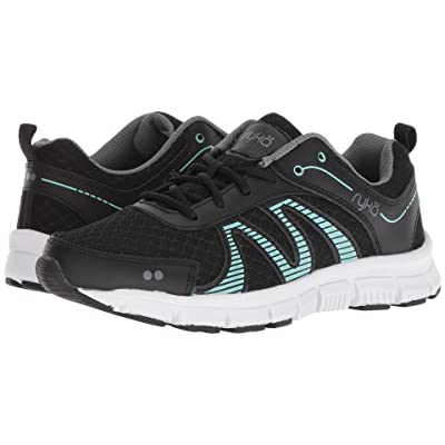 Ryka Heather SMT (Black/Mint/Grey) Women