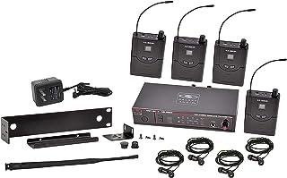 Galaxy Audio AS-950-4N - Sistema de Monitor Personal inalámbrico en el oído, Banda N