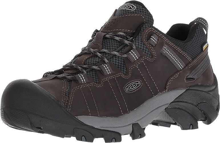 KEEN Men's Targhee II Waterproof Hiking chaussures, Mort Dark Slate, 8 M US