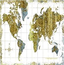 Thirstystone Coaster Set of Gilded Map