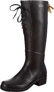 Aigle Womens Miss Juliette Lacet Rubber Boots