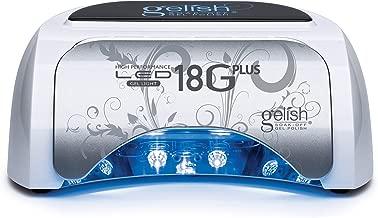 Gelish Harmony 18G Plus 36-Watt LED Gel Light For Curing Manicures   18GPlus