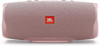 JBL Charge 4 Bluetooth-luidspreker in Rose, waterdichte, draagbare boombox met geïntegreerde powerbank, met slechts één ba...