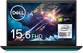 Dell ゲーミングノートパソコン Dell G5 15 5500 ブラック Win10/15.6FHD/Core i7-10750H/16GB/512GB SSD/GTX1660Ti NG585A-ANLB