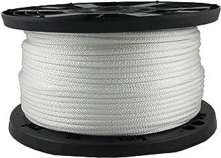 Cordage Source 48S No.8 Solid Braid Nylon Sash Cord 50-Feet