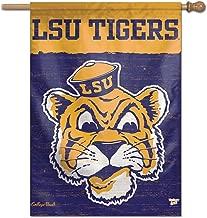 WinCraft Louisiana State LSU Tigers Vault Throwback Retro Vintage House Flag
