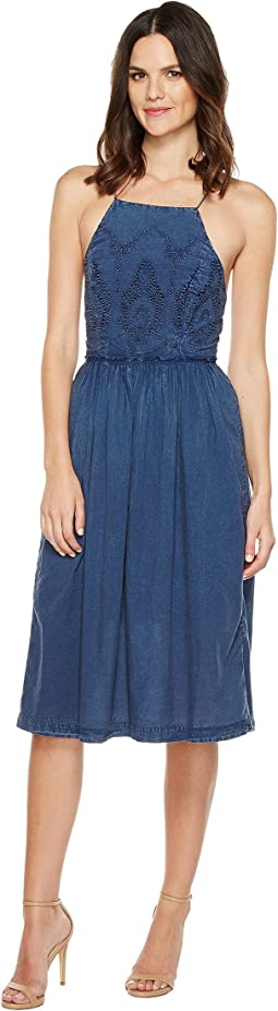 Lucky Brand - Schiffli Bib Dress